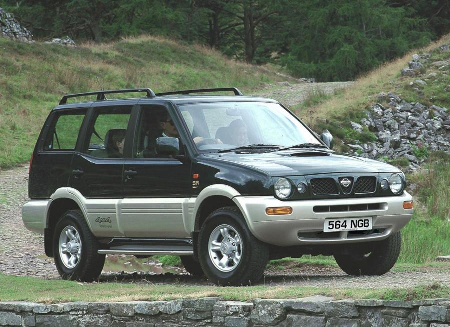 Nissan Terrano II 5-Door (UK) '1996