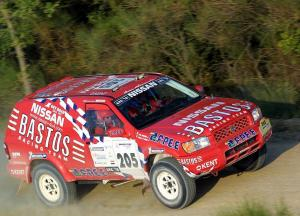 1999 Nissan Terrano Rally Car