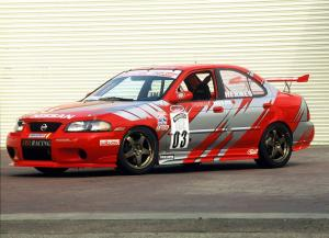 Nissan Sentra SE-R Spec V World Challenge Race Car 2002 года
