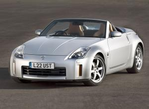 Nissan 350Z Roadster 2006 года (UK)