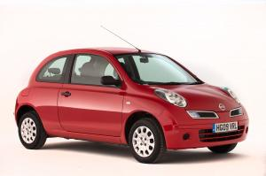 2007 Nissan Micra 3-Door (UK)