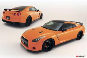 Nissan GT-R R35 by Zele 2008 года