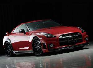 Nissan GT-R Sports Line by WALD 2008 года