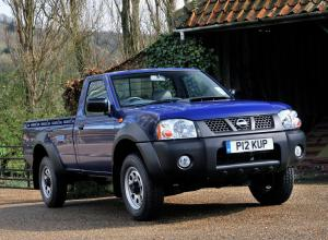 Nissan NP300 Single Cab 2008 года (UK)