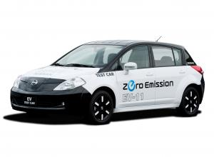 Nissan Tiida EV-11 Test Car
