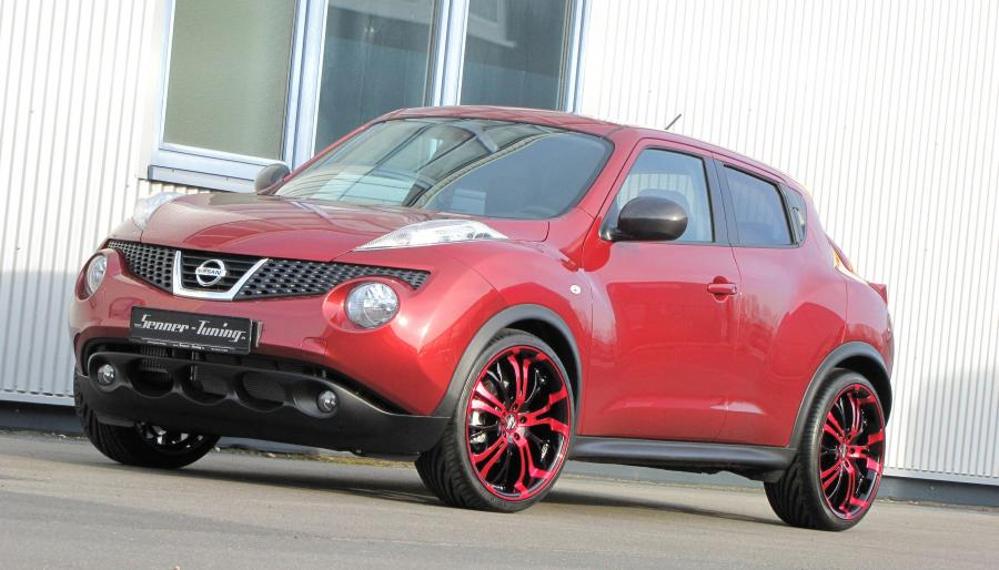 2012 Nissan Juke 20 Tzunamee Candy Red by Senner Tuning