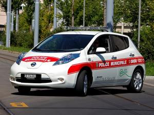 Nissan Leaf Police 2012 года
