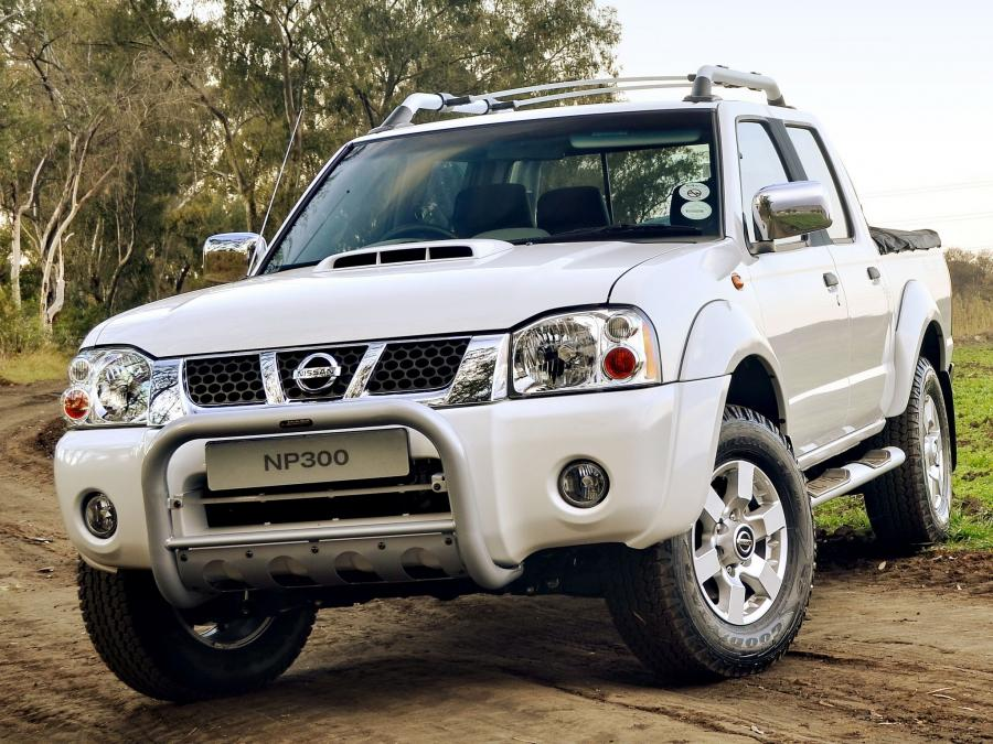 Nissan NP300 Hardbody Silver Double Cab