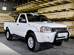 Nissan NP300 Hardbody Silver Single Cab '2013