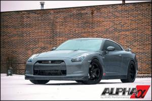Nissan GT-R 1600HP by Alpha Performance 2014 года