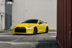 2014 Nissan GT-R by MC Customs on Forged Wheels