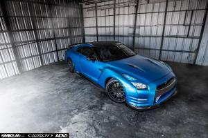 2015 Nissan GT-R by EVS Motors and Jotech Motorsports on ADV.1 Wheels (ADV8 M.V1)