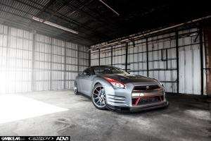 Nissan GT-R by EVS Motors on ADV.1 Wheels (ADV5.0MV1CS) 2015 года