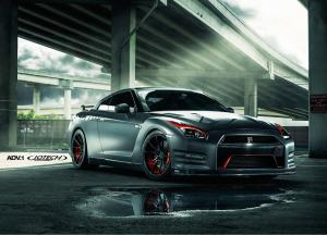 Nissan GT-R by Jotech Motorsports and EVS Motors on ADV.1 Wheels (MV1CS) 2015 года