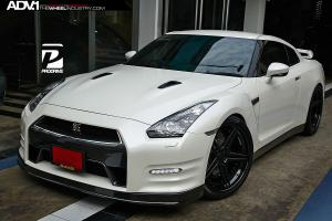 2015 Nissan GT-R by ProDrive on ADV.1 Wheels (ADV05TRACKSL)