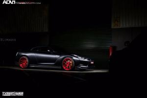2015 Nissan GT-R by Tyrepower Hawthorn on ADV.1 Wheels (ADV5.0DC)