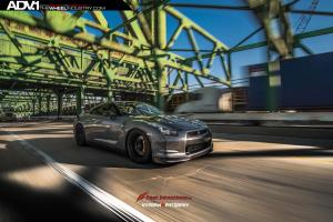 2015 Nissan GT-R on ADV.1 Wheels (ADV50MV1SL)