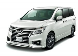 Nissan Elgrand Highway Star White Leather Urban Chrome 2016 года