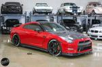 Nissan GT-R Red and Black by 503 Motoring on ADV.1 Wheels (ADV5 TRACK SPEC CS) 2016 года