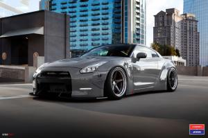2016 Nissan GT-R X Work on Vossen Wheels (VWS-3)