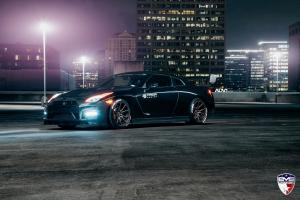 Nissan GT-R by EVS Motors on ADV.1 Wheels (M.V1 SL) 2016 года