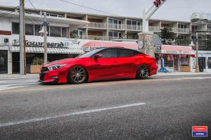2016 Nissan Maxima X Work on Vossen Wheels (VWS-1)