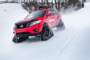 Nissan Pathfinder Winter Warrior Concept 2016 года