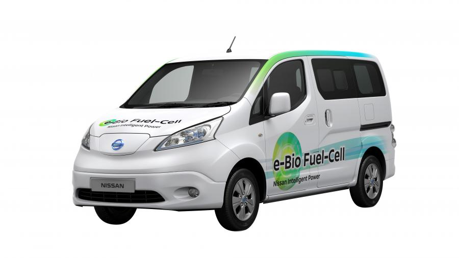 Nissan e-NV200 e-Bio Fuel Cell Prototype