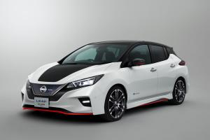 Nissan Leaf Nismo Concept 2017 года