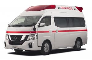 Nissan NV350 Paramedic Concept 2017 года