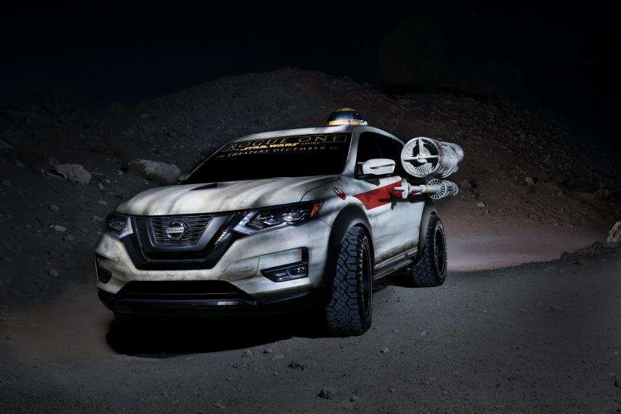 2017 Nissan Rogue X-Wing