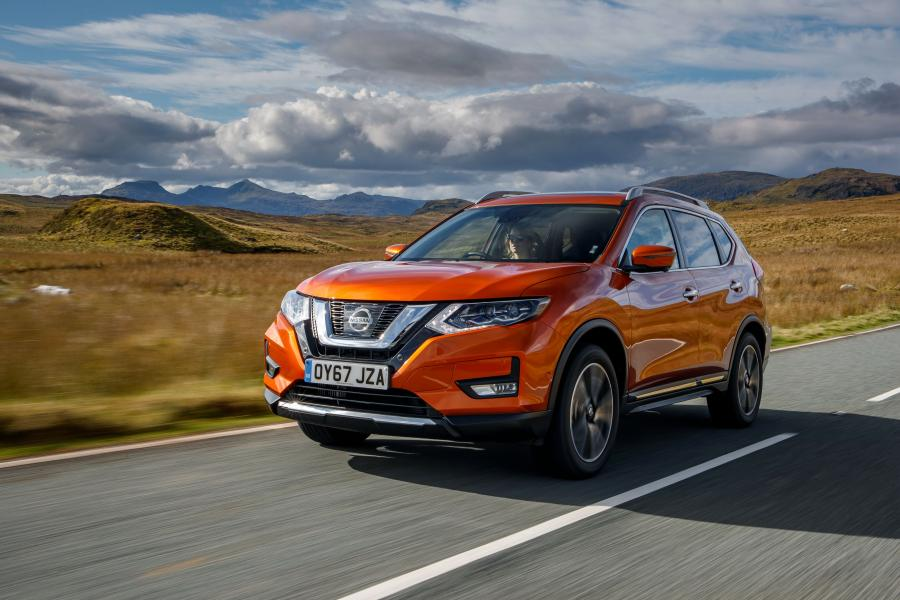 2017 Nissan X-Trail (UK)