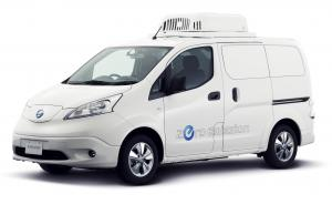 2017 Nissan e-NV200 Fridge Concept