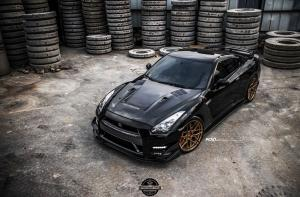 Nissan GT-R by ATT-Tec on ADV.1 Wheels (ADV7 M.V2 CS) 2018 года