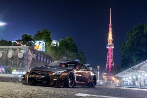 2018 Nissan GT-R by Liberty Walk on Forgiato Wheels (Maglia-ECL)