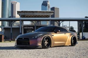 2018 Nissan GT-R by Liberty Walk on Strasse Wheels (SP5R Signature Series)