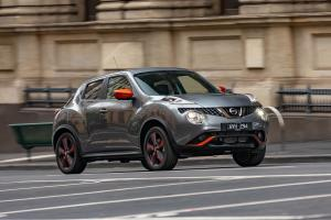 Nissan Juke Ti-S Personalisation Pack Orange Energy 2018 года
