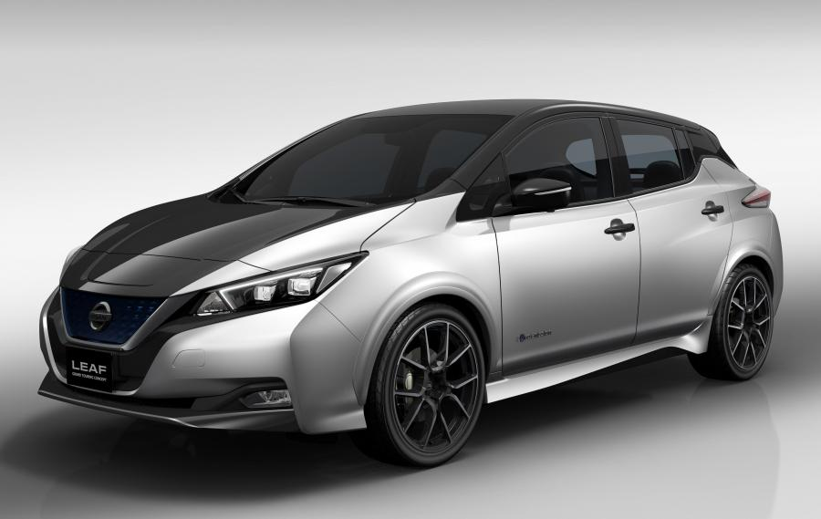 2018 Nissan Leaf Grand Touring Concept