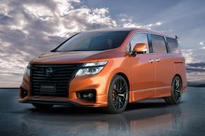 Nissan Elgrand The Sports Premium Concept 2019 года