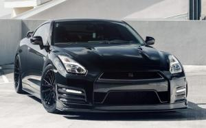 Nissan GT-R on Vossen Wheels (M-X4T) 2019 года