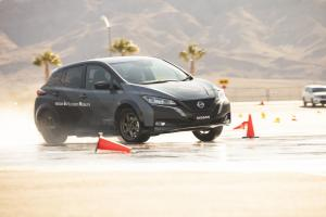 2019 Nissan Leaf All-Wheel-Control Test Car