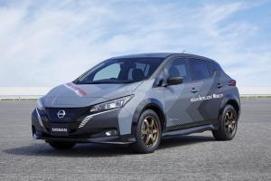 2019 Nissan Leaf All-Wheel-Control Test Сar