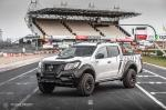 Nissan Navara Double Cab NAVY White by Carlex Design 2019 года