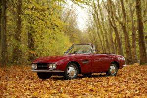 1963 O.S.C.A. 1600 GT Cabriolet by Fissore