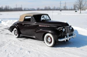 Oldsmobile L-39 Convertible 1939 года