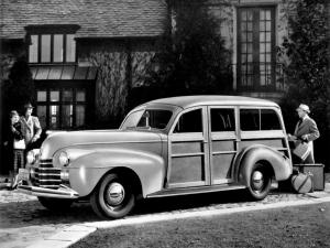 Oldsmobile Deluxe Station Wagon 1940 года