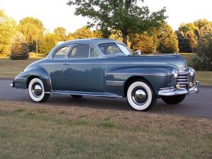 1941 Oldsmobile Custom Cruiser 98 Club Coupe