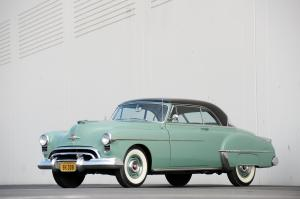 Oldsmobile 88 Deluxe Holiday Coupe 1950 года