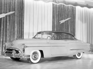 Oldsmobile 98 Holiday Coupe 1950 года
