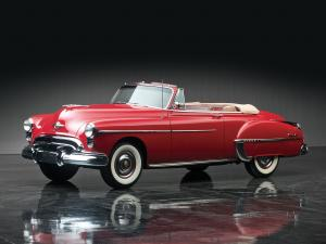 Oldsmobile Futuramic 88 Convertible 1950 года